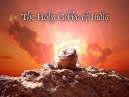 The Holy Gekko Of India by ez3k1el