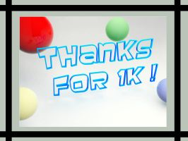 thanks for 1k by jomet