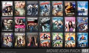 Movie Icon Pack 151 by FirstLine1