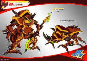 Gobots Animated Bugsie by PWThomas
