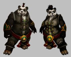 Pandaren Female consept by Smirgow