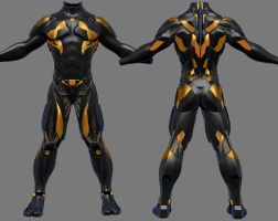 Suit SciFi by Sidimention
