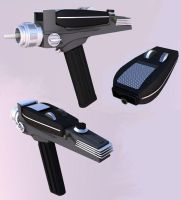 Star Trek TOS Hand Phaser by wolfmage75