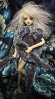 Thorn with white mohair and stock skirt by midnightstrinkets