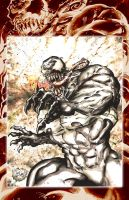 Venom Sketchbook by ChrisMcJunkin
