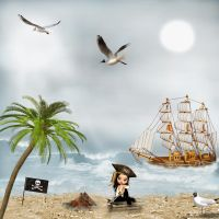 A Pirate Life by chamirra