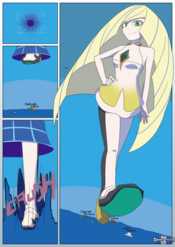 Pokemon- Ultra Lusamine [Page 2] by GamefreakDX