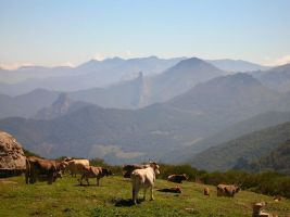 The Spanish Mountains by FluteJazz