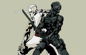 Snakeeyes and Stormshadow by anditron3000