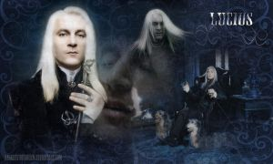 Lucius Wallpaper by QueenDevious
