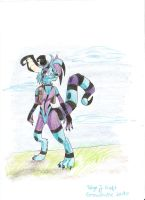 Rythm the Crux - colored by Graswhistle