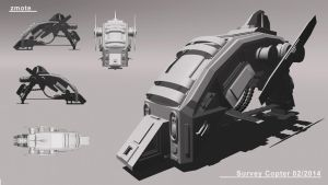 Survey Copter by zmote