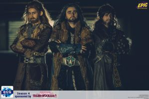 fili, thorin, kili by Spiral-simon