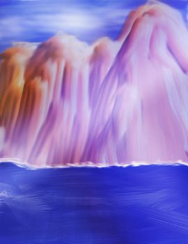 Abstract Mountain and Ocean by MattRasley
