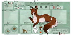 Foxstar : Heatherclan Leader by SunnPie