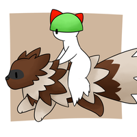 Ralts and Zigzagoon by Lexi247