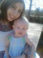Hailey and mommy by cynthiardematteo