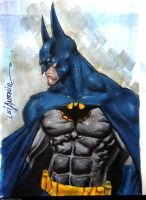 Batman by stompboxxx