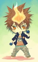 Chibi Tsuna by Celsa