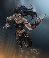 X-23 COLORED by LucasAckerman