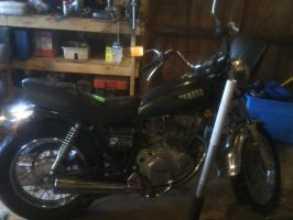 1980 yamaha sr250 exciter by USCGCitasca