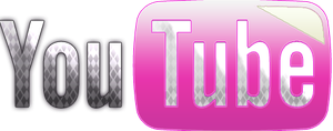 Logo Youtube PNG Pink by MFSyRCM