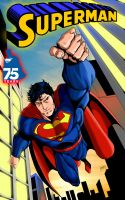 Superman Forever 75 Years by MLG13 by Moislopez