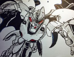 Run! It's a Gundam! by Radiklement