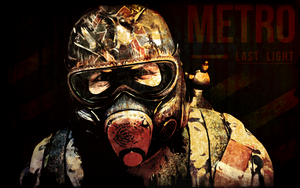 Metro: Last Light Wallpaper - D6 by BTedge116