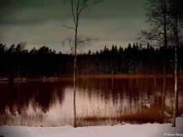The perch lake by hannayoung