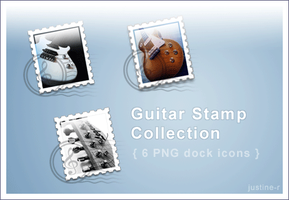 Guitar Stamps Collection by justine-r