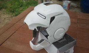 Iron man helmet for sale by PootPoster
