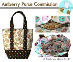 Amberry Commissioned Bag by chat-noir