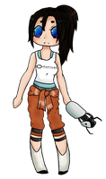 Chell Finished by Pachipie