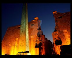 Luxor Temple by Black-Rose-Angel