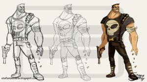Punisher Process by clockworkBAT