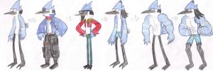 Mordecai's Transformations by WaRrior9100