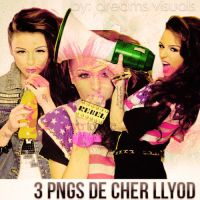 Pack Png de Cher Llyod. by DreamsVisuals