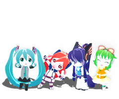 .: DL Series :. Vocaloid Animal Series by Duekko