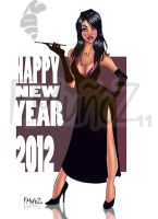 Happy Pin Up Year 2012 by Pomeroy74