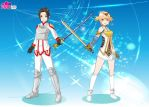 Me And Angel In SAO by V1EWT1FUL