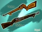 Sniper and Hellabore by pookyhorse