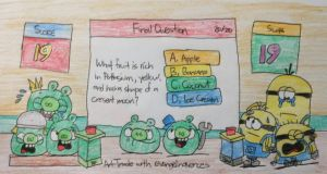 The Bad Piggies vs. The Minions by AngryBirdsStuff