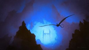 Descent to the Underworld by Balaskas