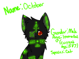 October Quick Ref by ghost--scarves