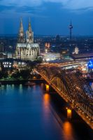 Cologne Cathedral by 2-0-1-9