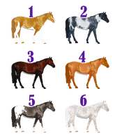 Free Adoptables - Horses 10 by carlmoon