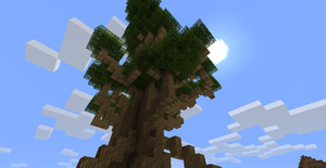 minecraft tree by omegaproductions