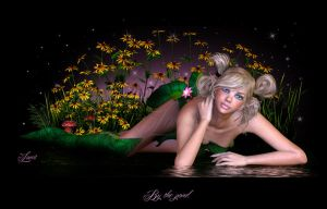 By the pond by Loveit