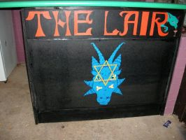 The Lair - Bar Front design by Peggy2011